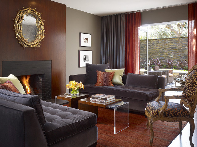 Living Room Contemporary Living Room San Francisco By Mark English Ar