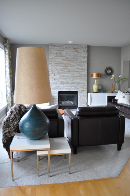 living room (mid-century flair) modern-living-room