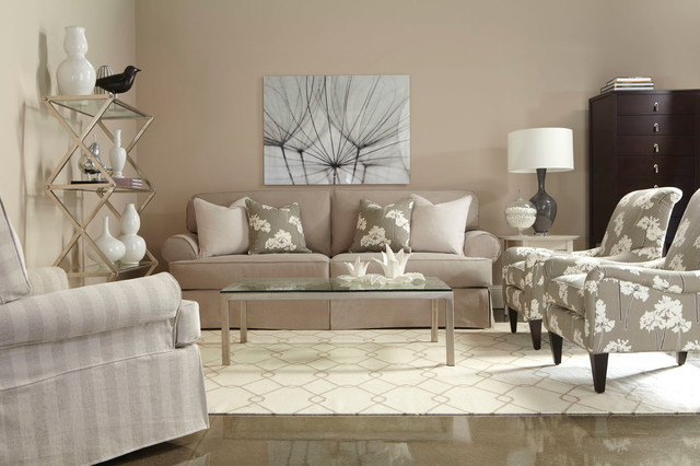 Living Room Shabby Chic Style Toronto By
