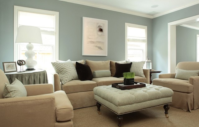 Living Room Paint Color Ideas - Traditional - Living Room ...
