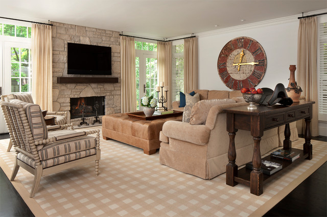 Living Room Traditional Other By
