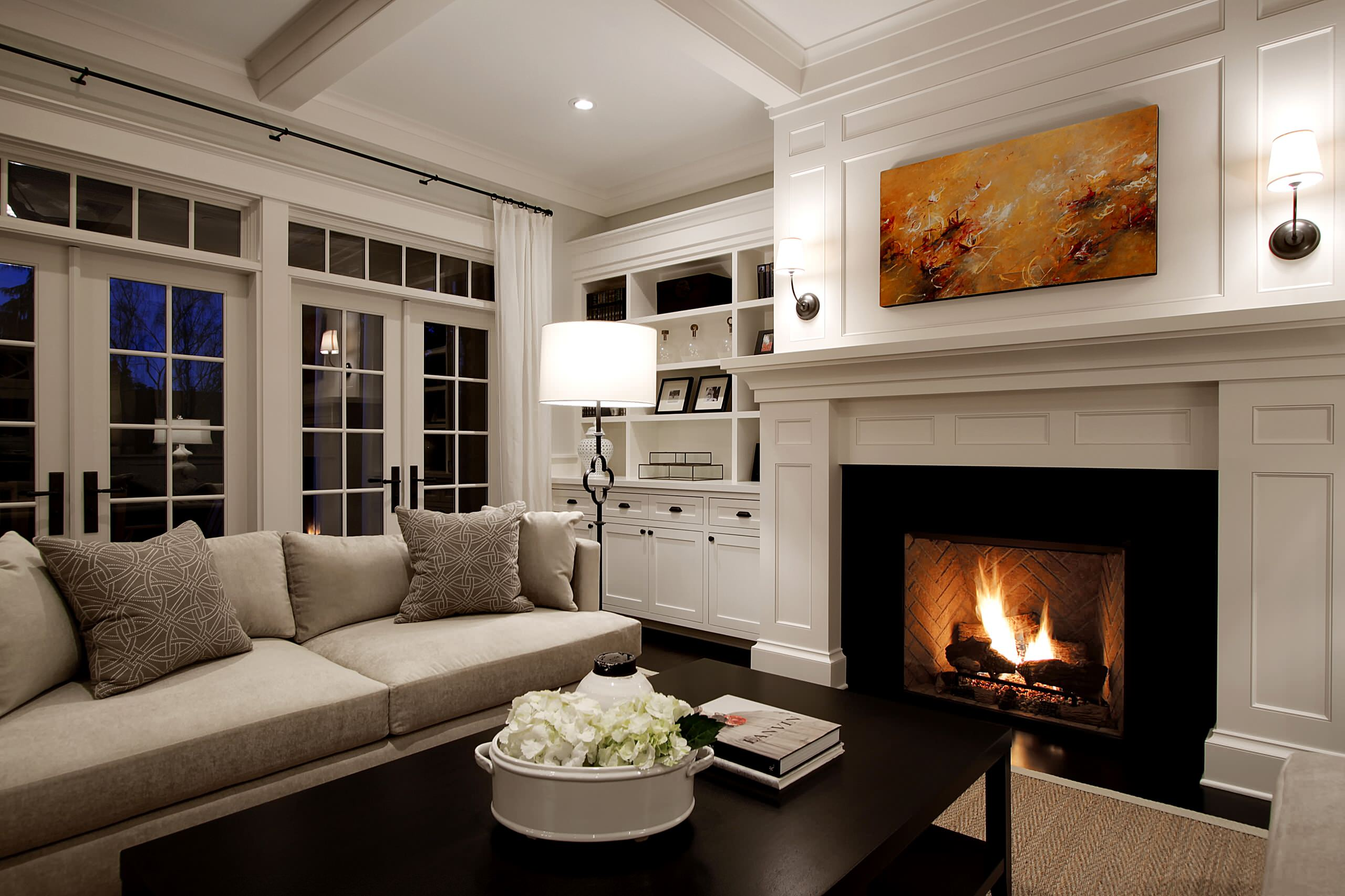 75 Beautiful Living Room With A Standard Fireplace Pictures Ideas February 2021 Houzz