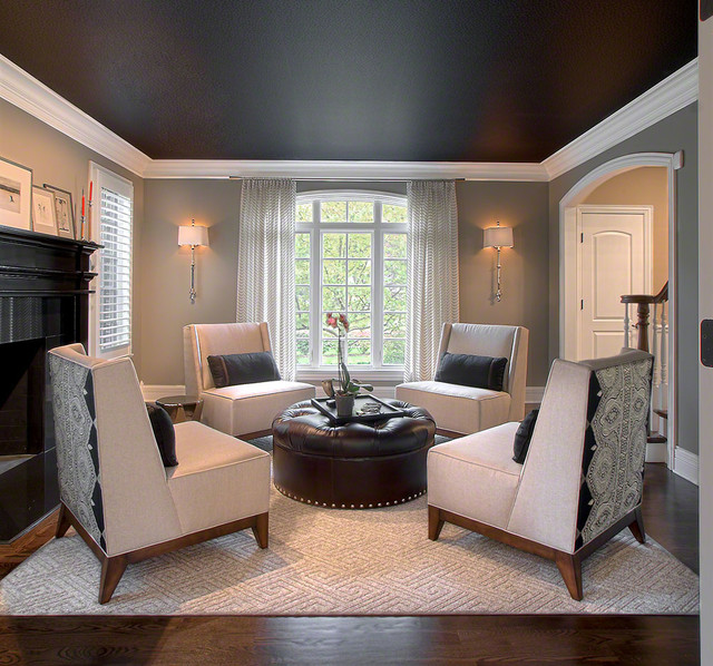 Transitional Living Room Decorating Ideas: Transitional