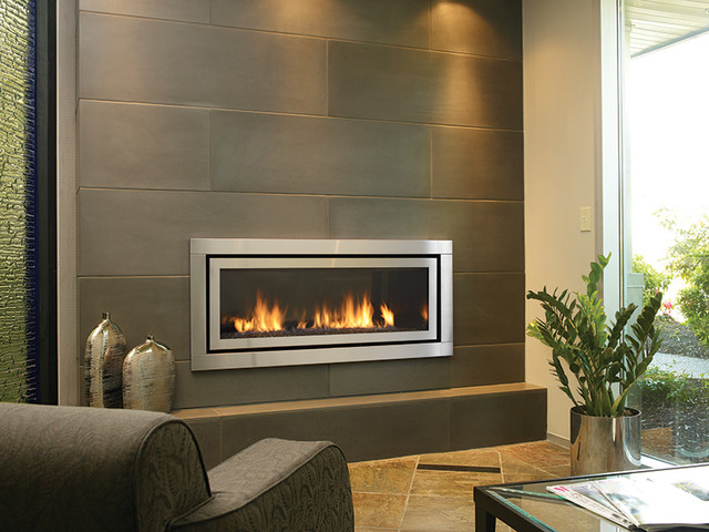 regency horizon hz54 modern gas fireplace living room - Gas Fireplace Design Ideas