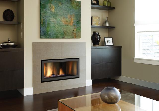 Regency Horizon HZ30E modern gas fireplace living-room - Regency Horizon HZ30E Modern Gas Fireplace - Living Room