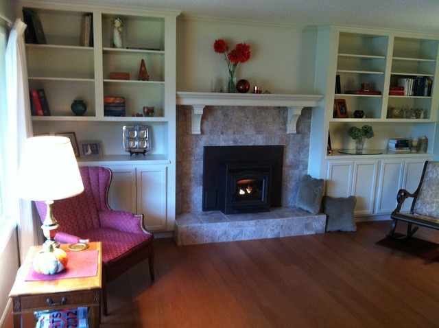 living room remodel traditional