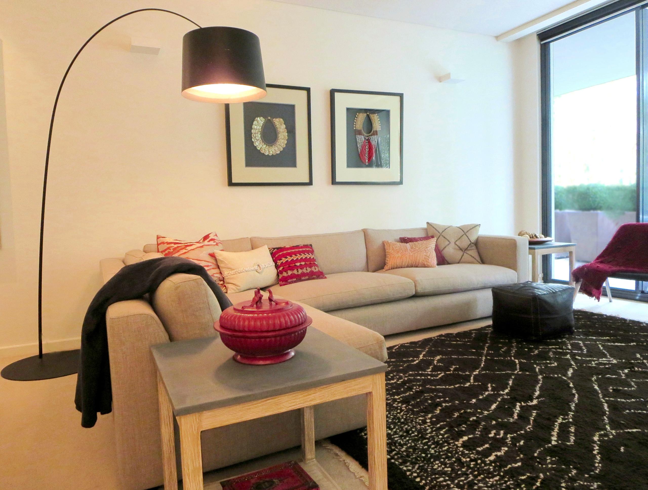 Living Room - Residence Warrawee, Sydney