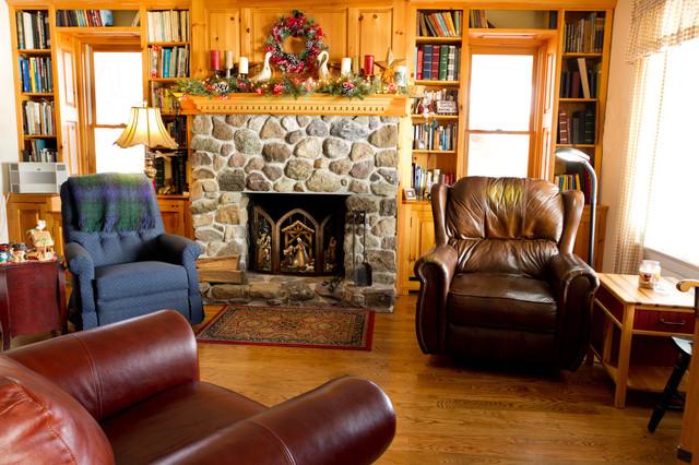 Living Room rustic-living-room