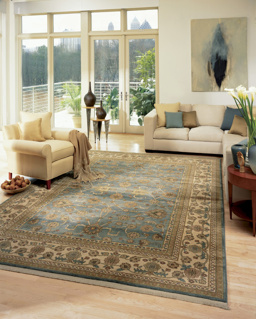 Great Living Room Rugs Transitional Living Room