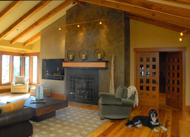 Estate for an Adventurer contemporary-living-room