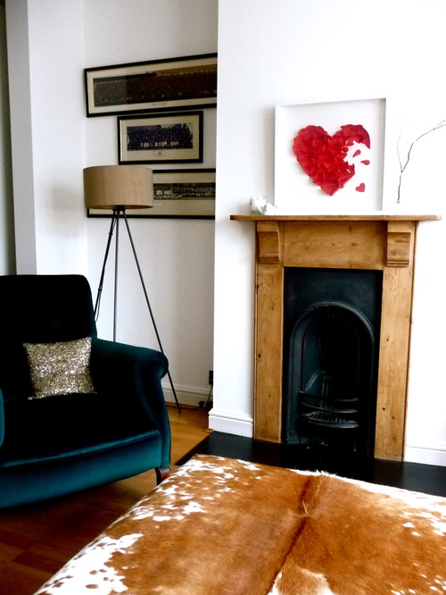 living room eclectic living room