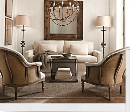 Living Room-Small Spaces - traditional - living room