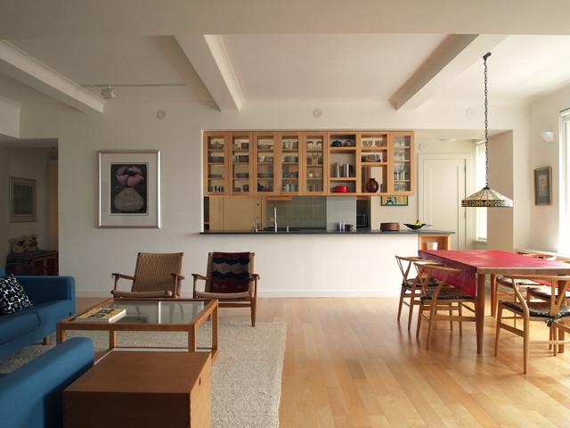 Living Room Modern New York By Studiohw Heather Weiss