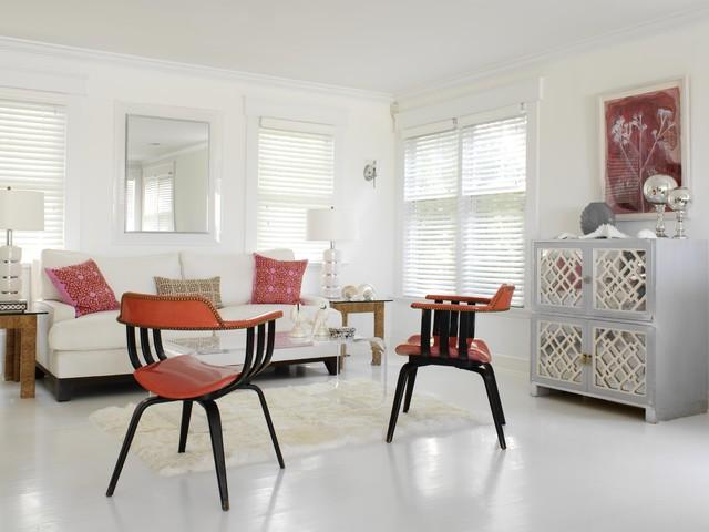 Eclectic Living Room By Tara Seawright Interior Design