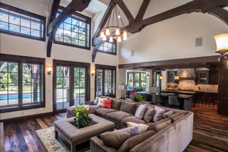 Country Home Rustic Living Room Salt Lake City By