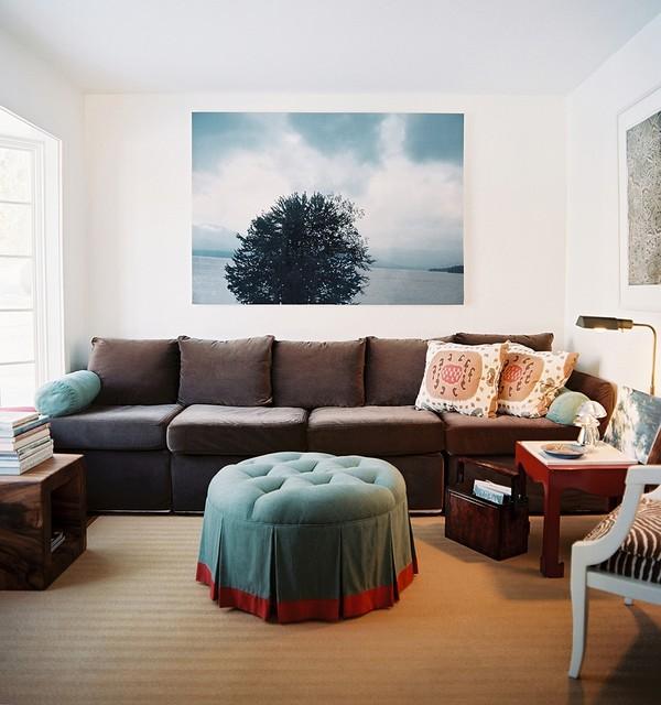living room artwork decor. Living Room eclectic living room  Eclectic New York by TILTON FENWICK