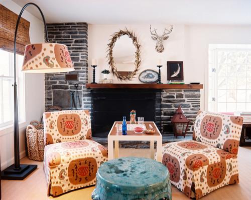 living room by TILTON FENWICK