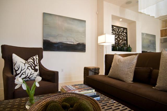 Eclectic Living Room Idea In Birmingham