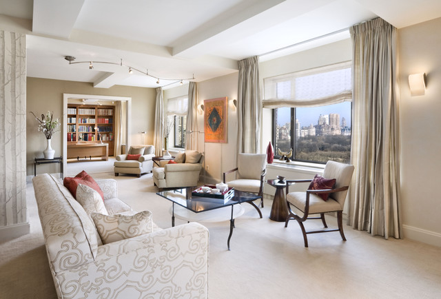 Wonderful Living Room, Upper East Side Apartment, New York City  American Traditional Living