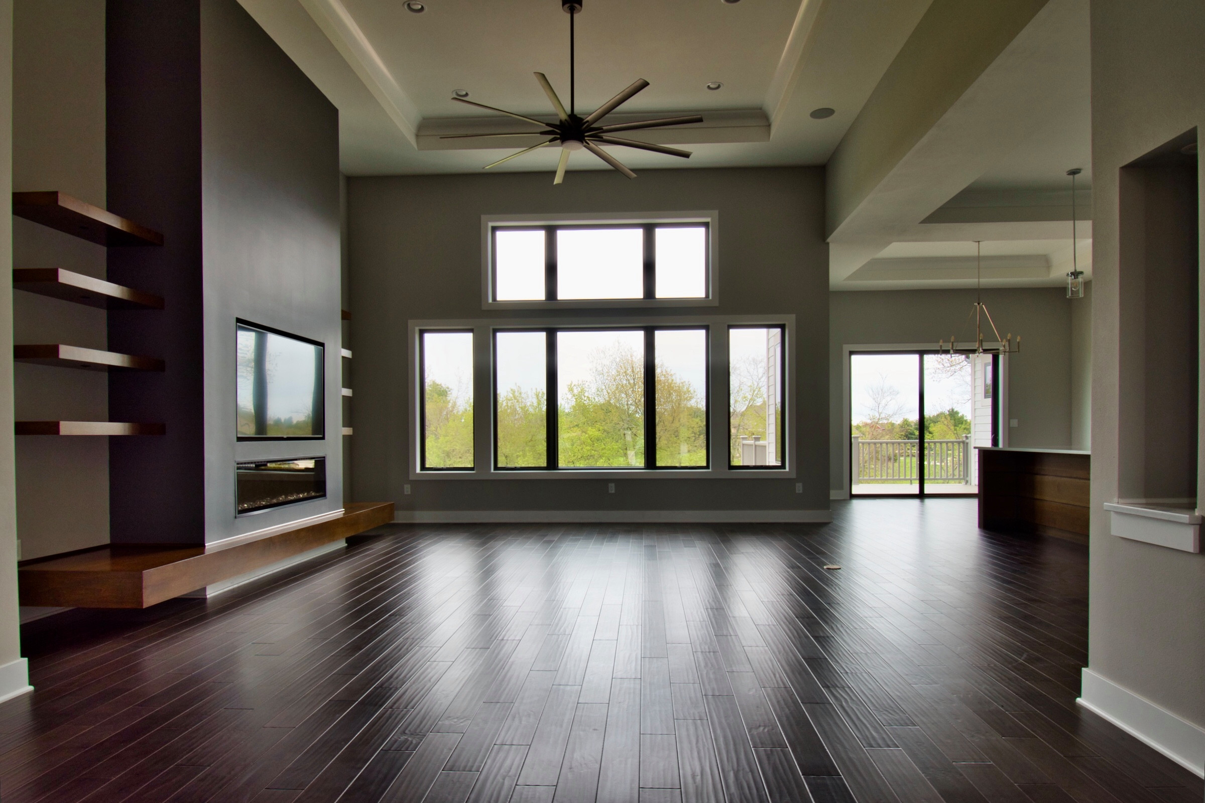 Living Room viewed from Entry