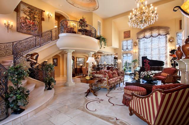 Anita Borelli traditional-living-room