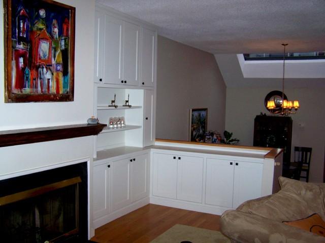 Living Room Wall Unit traditional-living-room