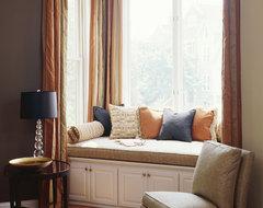LIving Room Window Seat contemporary-living-room