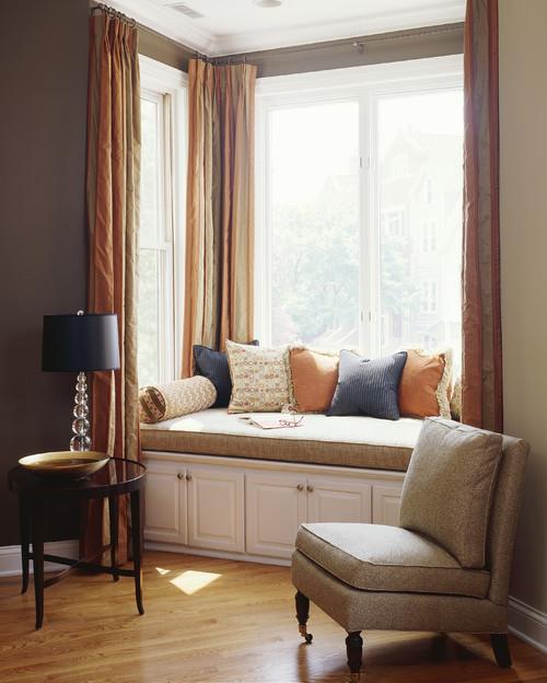Contemporary Living Room by Boston Interior Designers & Decorators Molly McGinness Interior Design