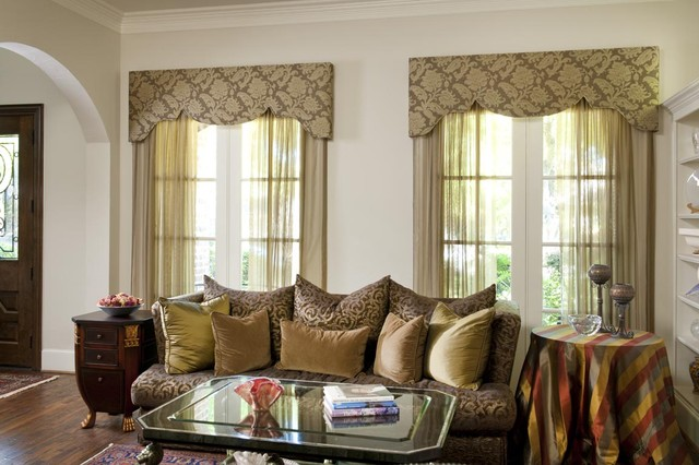 Living room window treatment for Living room window treatments