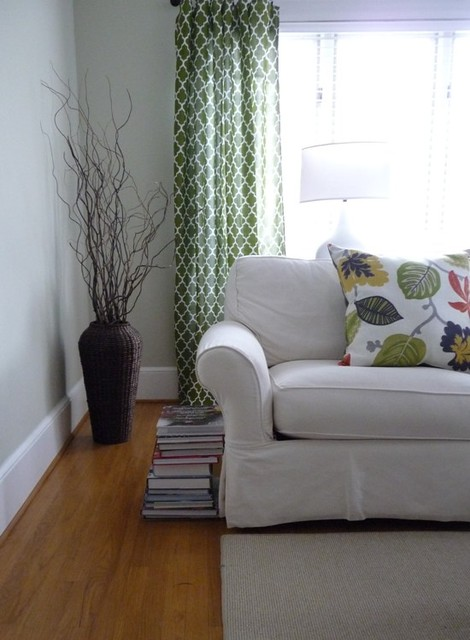 Living Room Accents Green On Sich