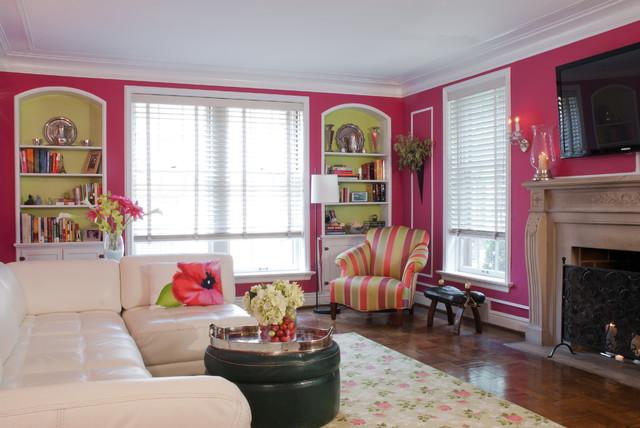 Joni Spear Interior Design traditional-living-room