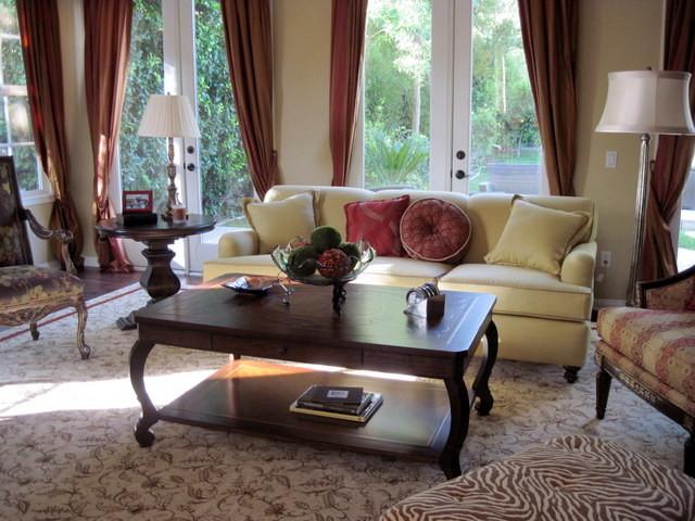 Warm Tones Living Room Ideas: Living Room With Warm Earth Tones