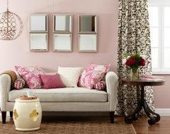 Living Room Furniture Color For Light Pink Walls