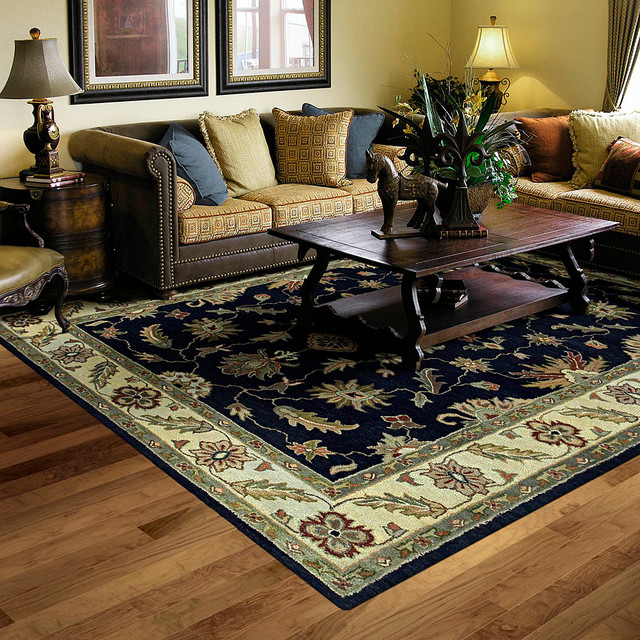 Living Rooms Traditional Living Room Kansas City By Area Rug Dimensions