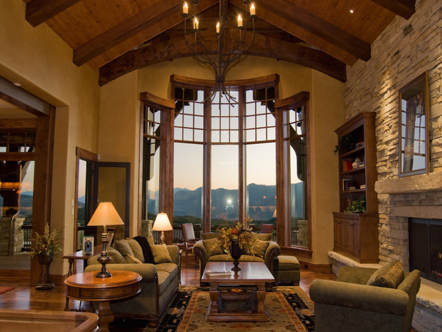 Living Rooms by Cameo Homes Inc. in Utah traditional-living-room