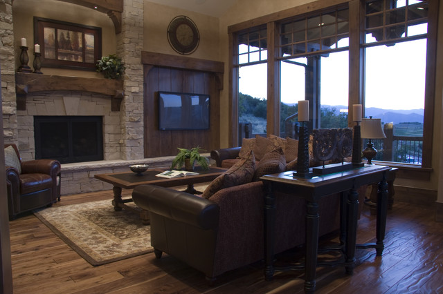 Living Rooms by Cameo Homes Inc. in Utah traditional living room