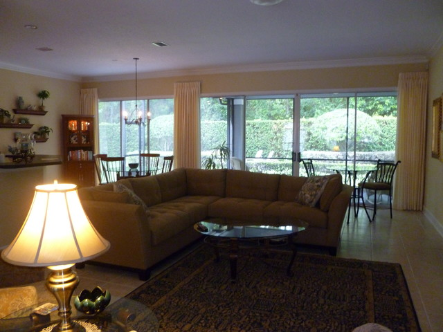 Living Rooms Transitional Living Room Jacksonville By Claudettes Decors