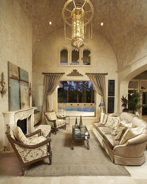 Living Rooms mediterranean-living-room
