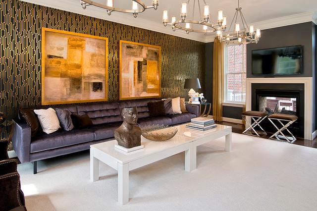 Living Rooms contemporaneo-soggiorno