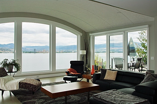 Living Rooms | Window + Door Designs modern-living-room