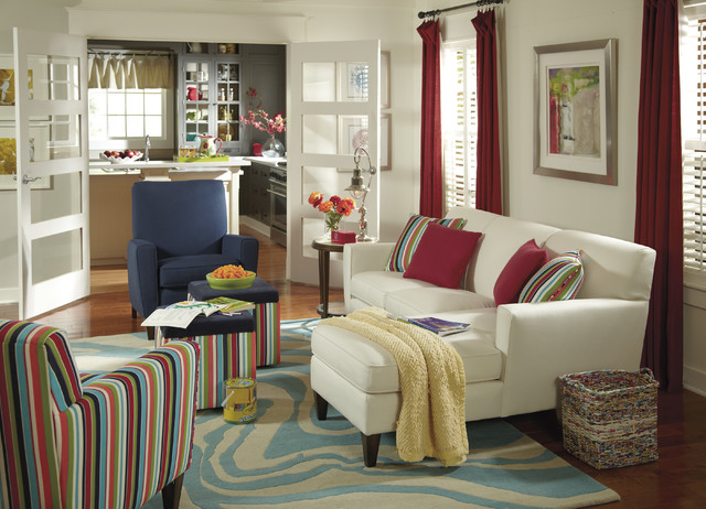 Living Rooms eclectic-living-room