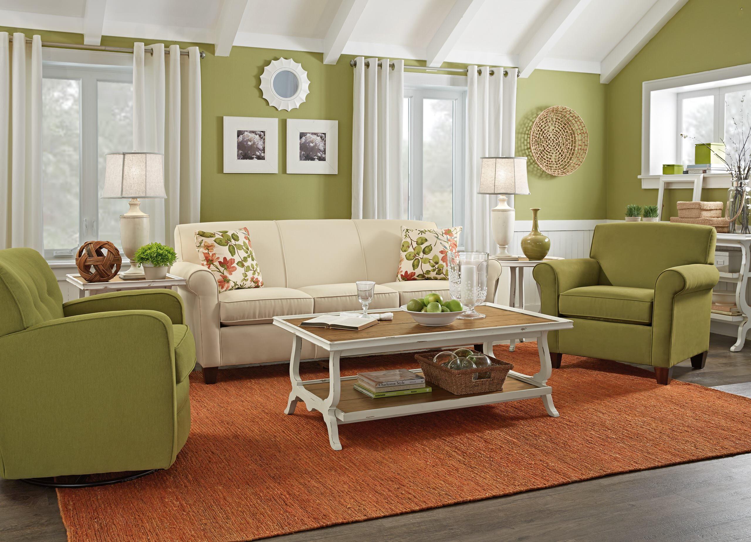 Olive Green Living Room Ideas Photos Houzz