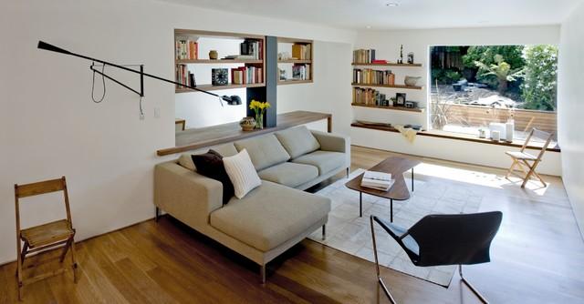 living space contemporary-living-room