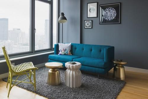 tendência de cores para pintar as paredes