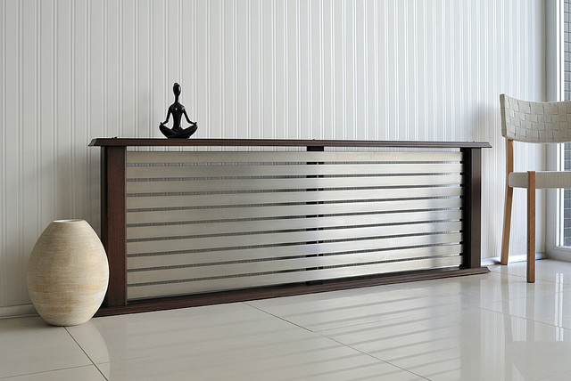 Genial Living Space Modern Radiator Modern Living Room