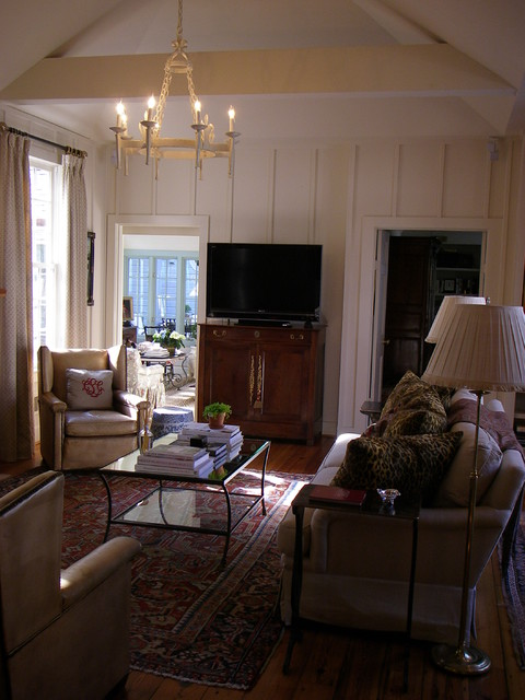 Living Spaces traditional-living-room
