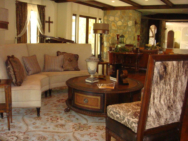 Living Spaces eclectic-living-room
