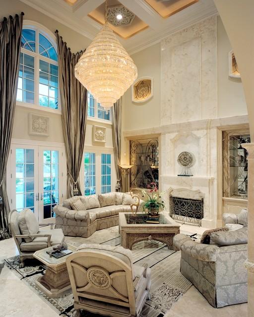 Living Spaces mediterranean-living-room