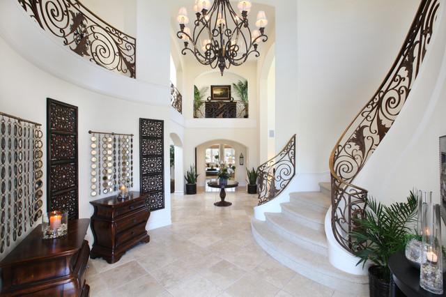 Livingroom Tropical Living Room Orange County By V