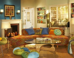 Liz Stewart contemporary living room